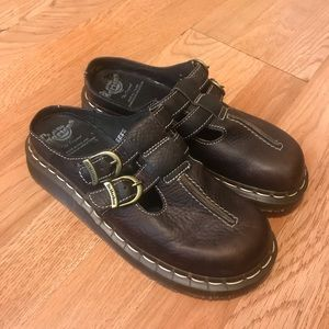 Dr martens Mary Jane mule sandals Wo's Sz 7